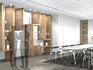 オフィスデザイン事例~清潔感・透明感を演出